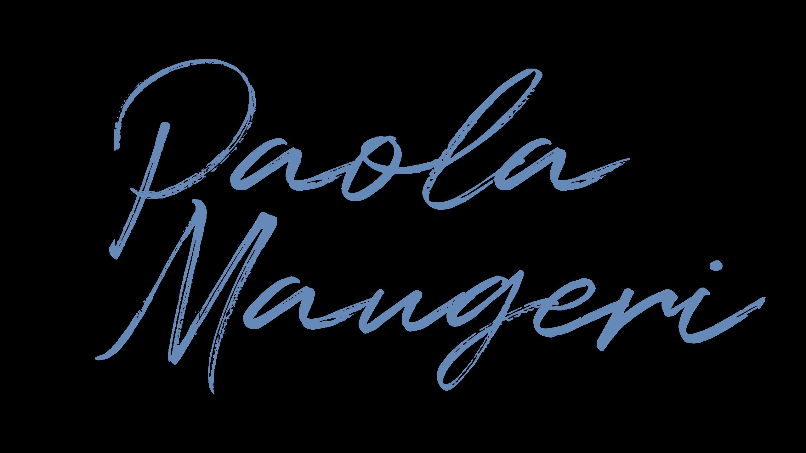 Paola Maugeri Logo